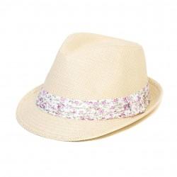 Letní klobouk barva smetanová Assante 161238