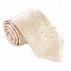 Zlatá svatební kravata Greg 92800