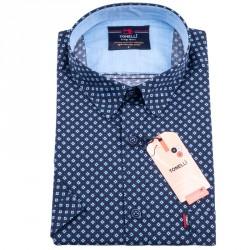 Tmavě modrá košile Tonelli 110832