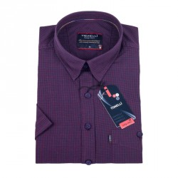 Fialová košile Tonelli 110864