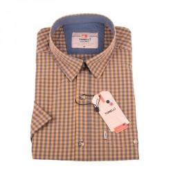 Světle hořčicová košile košile Tonelli 110851