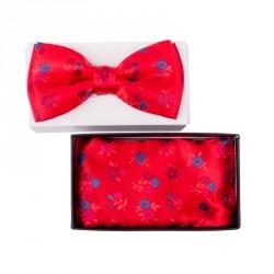 Pánský motýlek barva červená Assante 90303