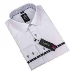 Nadměrná košile bílá vzor Brighton 110041