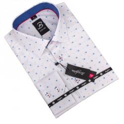 Nadměrná košile Brighton bílá 110043