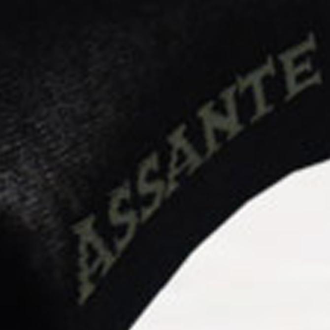 Detail tmavé ponožky Assante